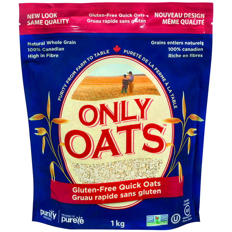 Only Oats Quick Oat Flakes - 1Kg
