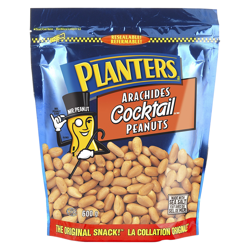 Planters Cocktail Peanuts - 600g