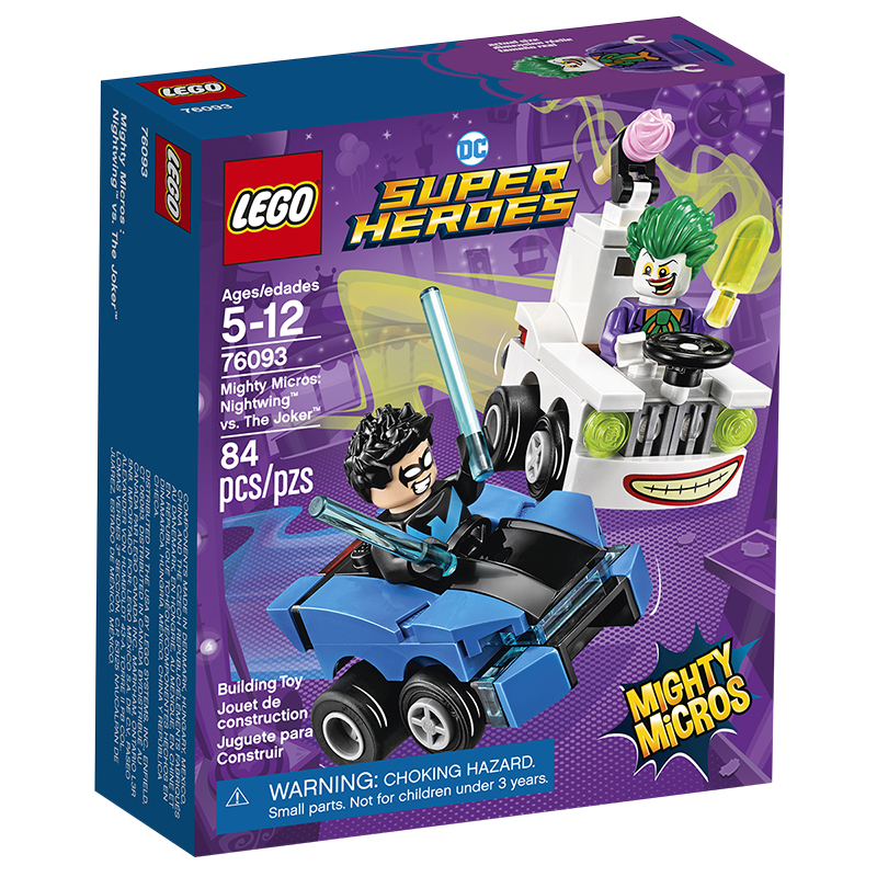 LEGO DC Super Heroes - Mighty Micros Nightwing™ vs. The Joker™