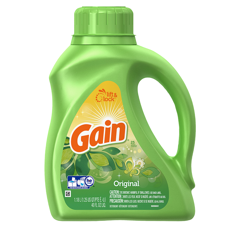 Gain Liquid Laundry Detergent - Original - 1.18L
