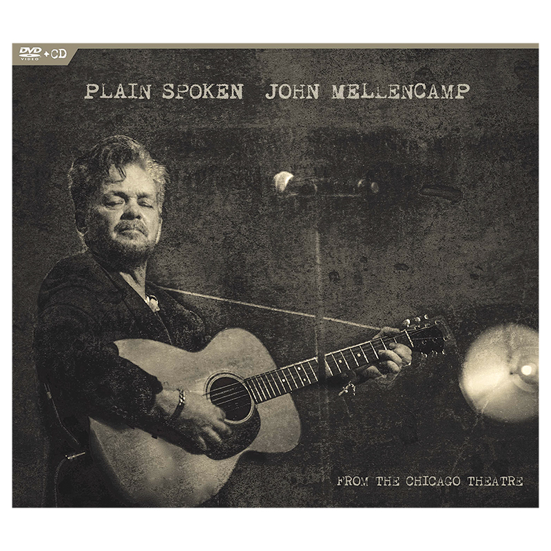 John Mellencamp - Plain Spoken, From The Chicago Theatre - Live - DVD + CD Combo