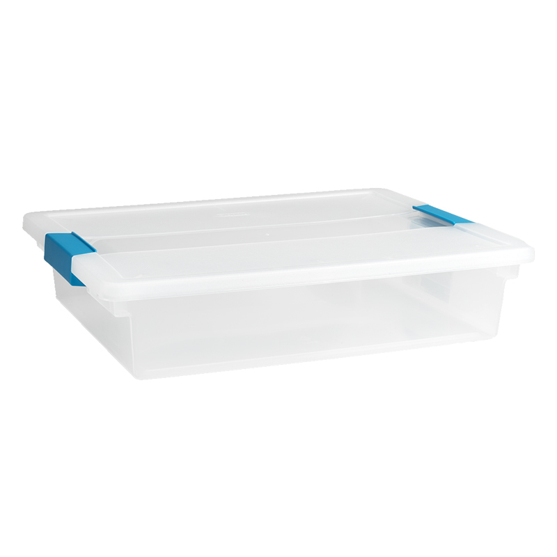 Sterilite Clip Box - Clear - Large