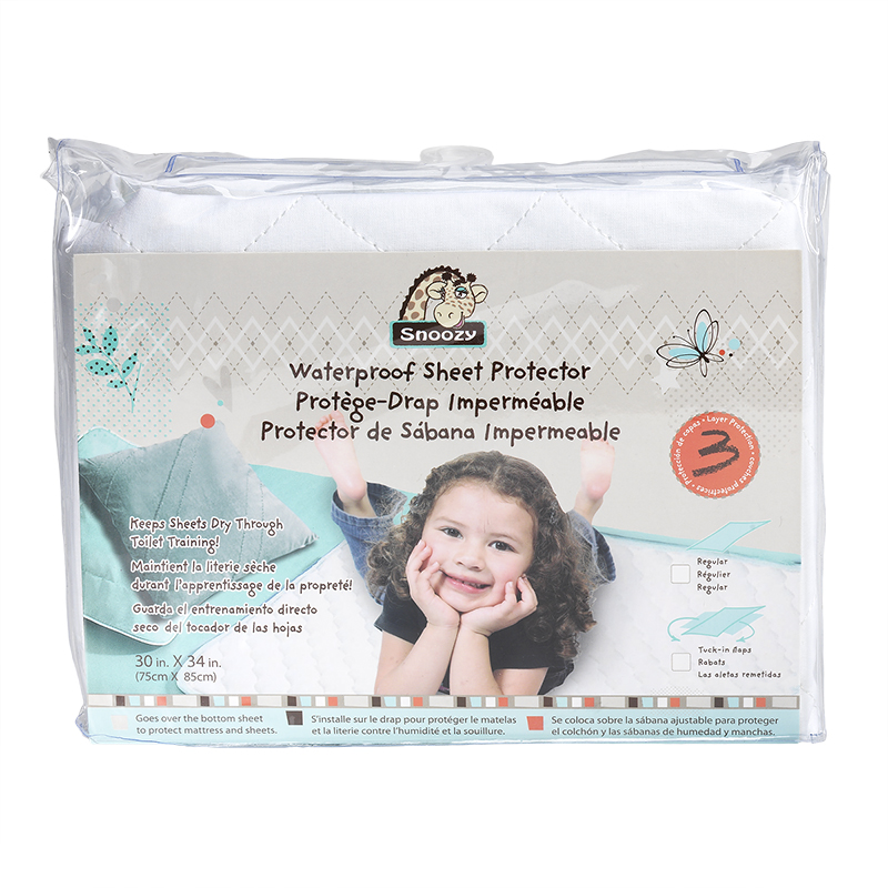 Snoozy Waterproof Sheet Protector - 75 x 85cm
