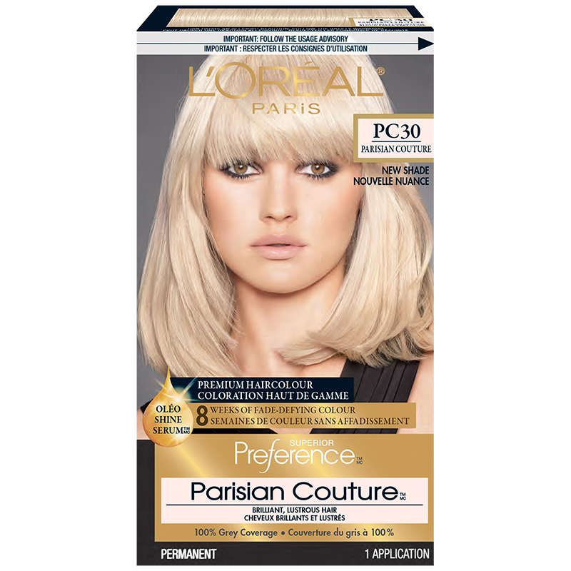 Loreal Superior Preference Hair Colour Pc30 Very Light Pearl