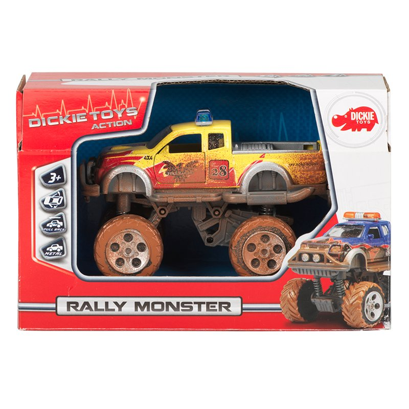 Dickie Rally Monster - Assorted