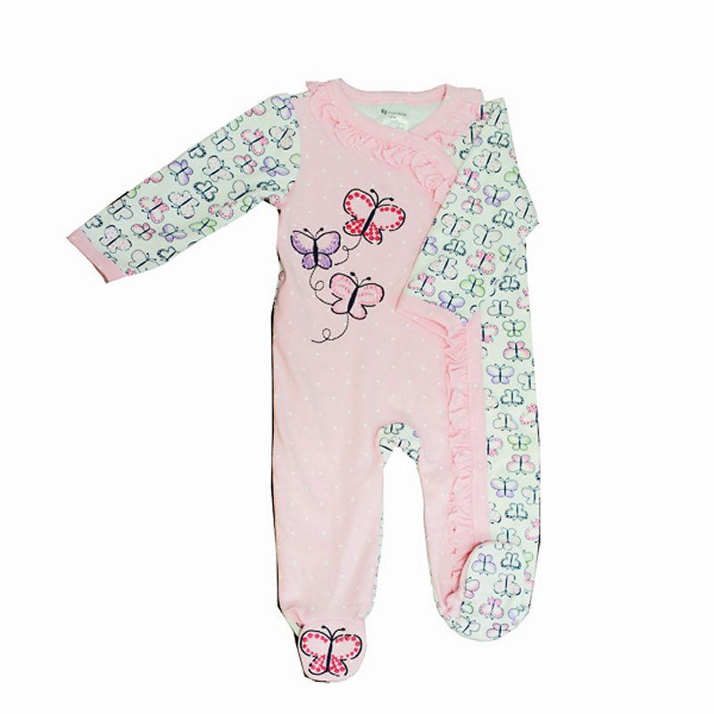 Baby Mode Butterflies Coverall - Assorted Sizes