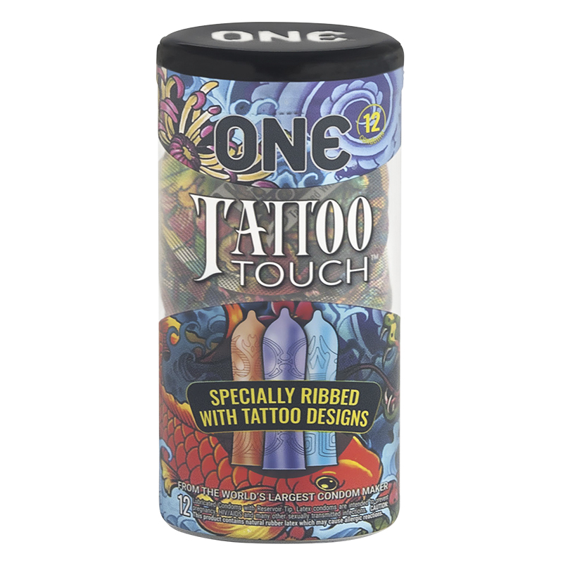 One Condom - Tattoo Touch - 12's