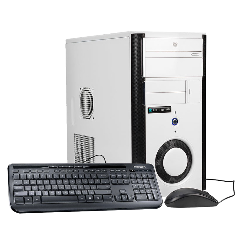Certified Data Intel Core i7-7700 Desktop Computer - Intel i7 - H270M