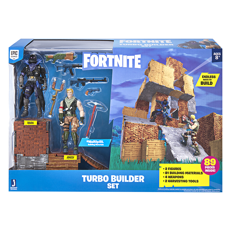 Fortnite Turbo Boulder Set - 2 Figure Pack