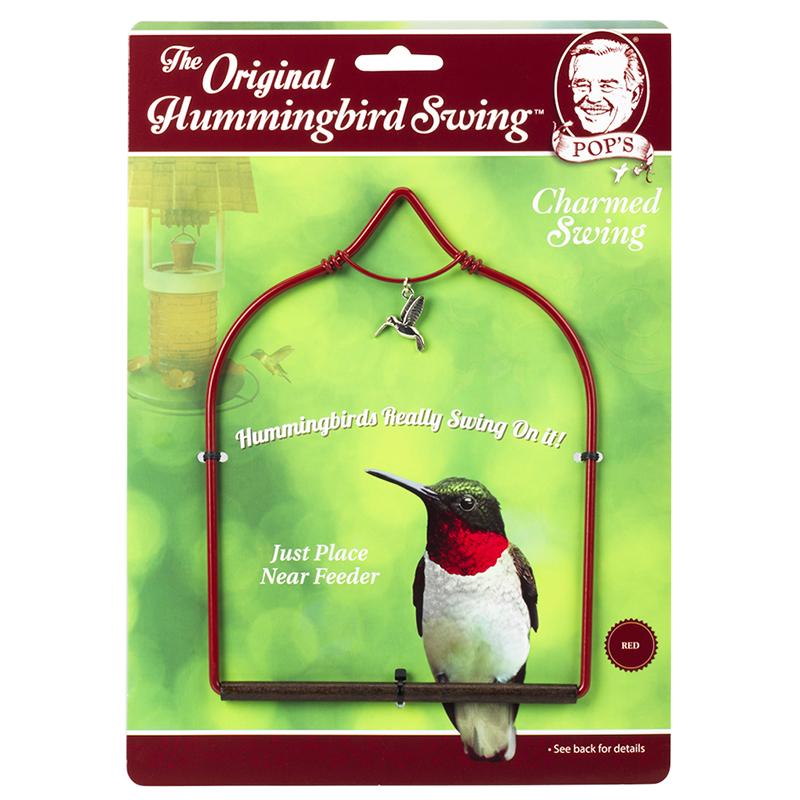 Hummingbird Charmed Swing - Red