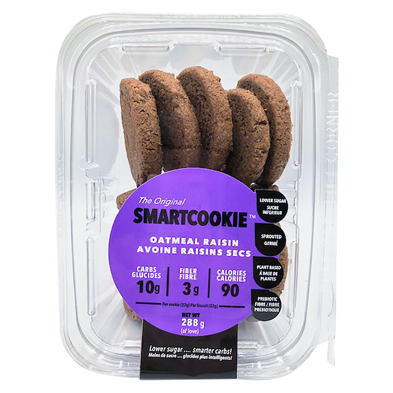 Sproutalicious Smart Cookies - Oatmeal Raisin - 320g
