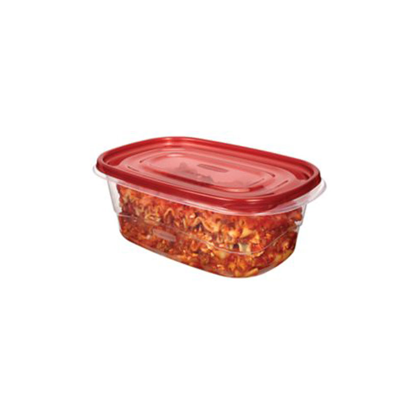 Rubbermaid TakeAlongs Deep Rectangle - 8 cup - 2 pack