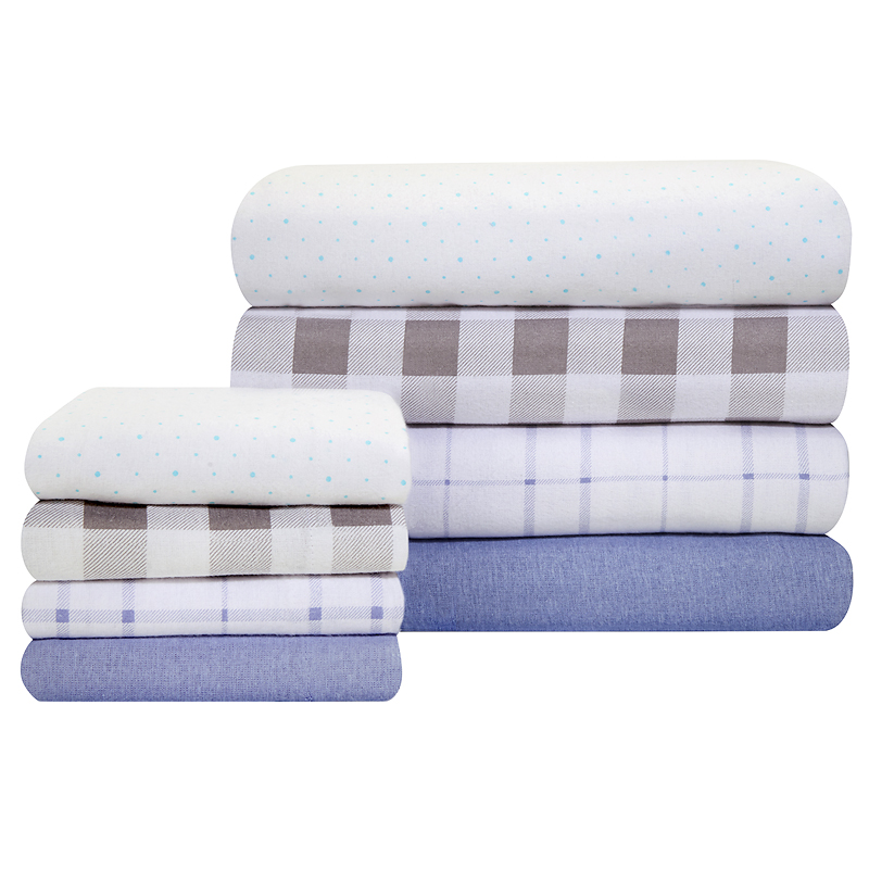 Grand Patrician Flat Flannel Sheet
