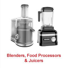 Blenders, Food Processors & Juicers