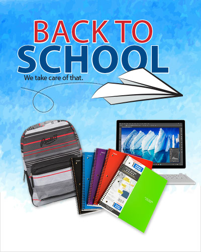 Back to School - We take care of that