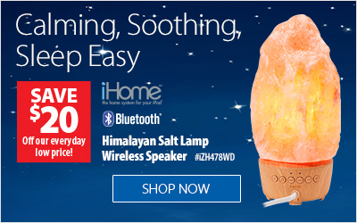 iHome Himalayan Salt Lamp Speaker