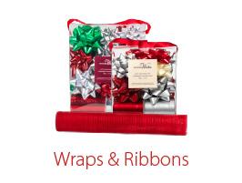 Christmas Wraps & Ribbons