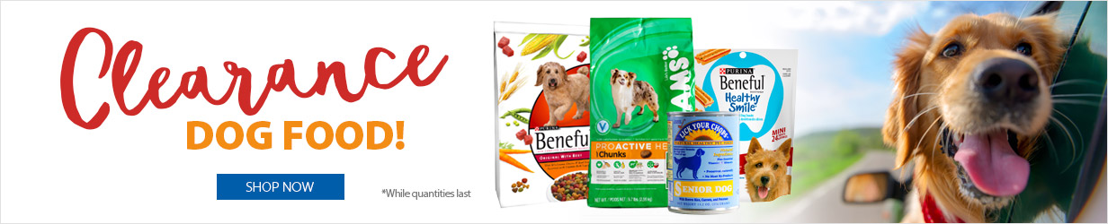 Dog Food Clearance!