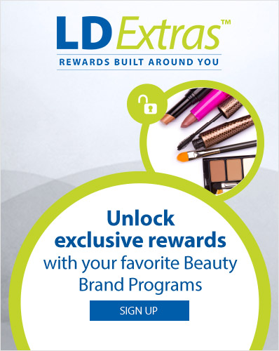 LDExtras. Unlock exclusive rewards with your favorite beauty brand programs.