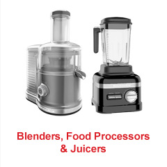 Blenders, Food Processors & Juicers