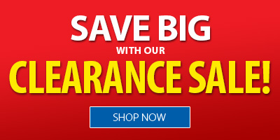 Save Big with our Clearance Sale!