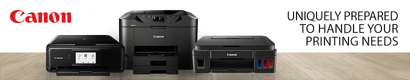 Canon - Uniquely Prepared to Handle Your Printing Needs.