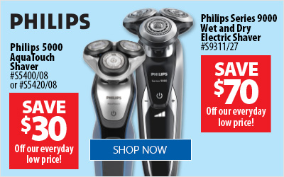 Phillips Shavers