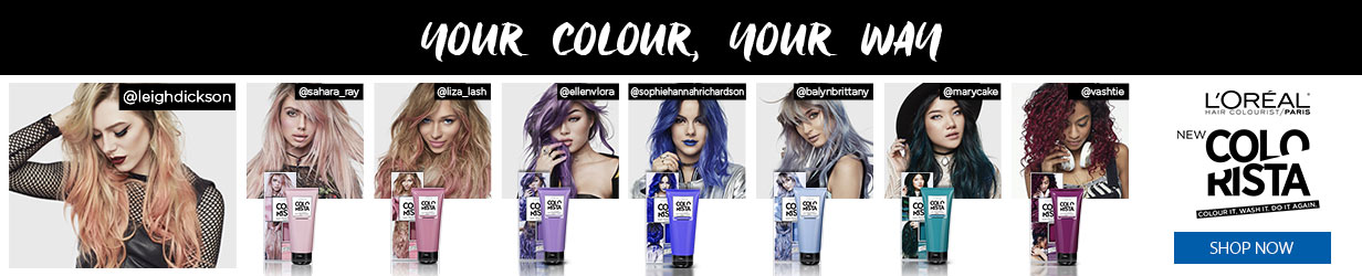 L'Oreal Colorista - Your Colour, Your Way.