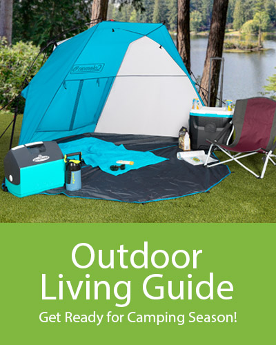2017 Outdoor Living Guide.  Cool looks for the spring and summer season.