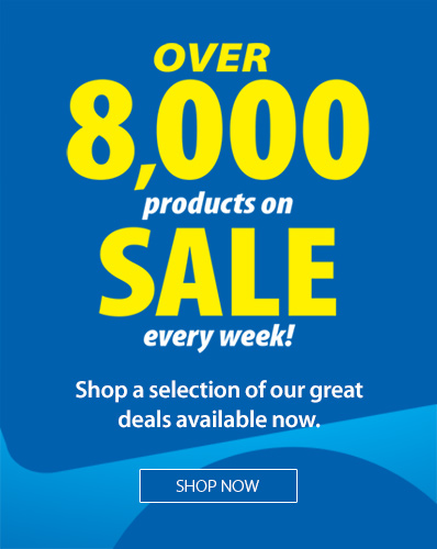 Over 8,000 products on sale every week! Shop a selection of our great deals available now.