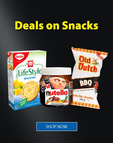Deals on Snacks