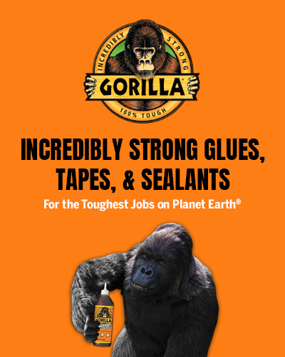 Incredibly strong glues, tapes, & sealants. For the toughtest jobs on planet earth.