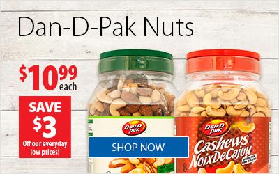 Dan-D-Pak - Save $3 Off