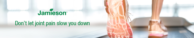 Jamieson - don't let joint pain slow you down