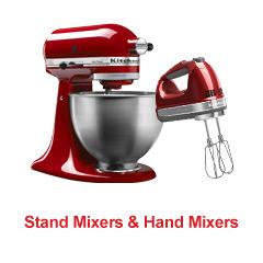 Stand Mixers & Hand Mixers