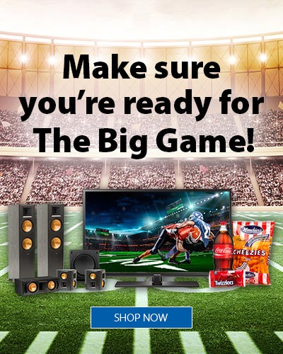 Make sure you're ready for The Big Game
