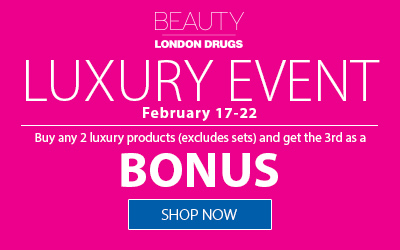February 17-22 Luxury Event - Buy any 2 luxury products (excludes sets) and get the third as a bonus