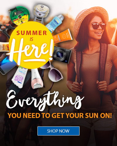 Summer is Here! Everything you need to get your sun on!