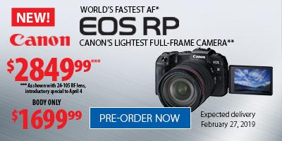 Canon EOS-RP Pre-Order