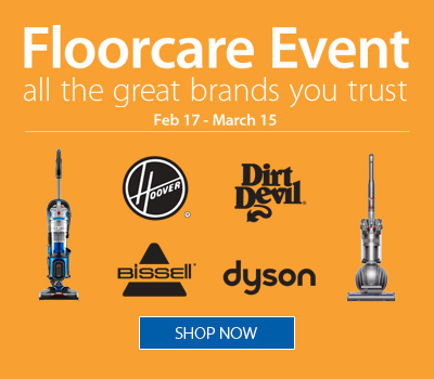 Floorcare Event: Feb 17 - March 15