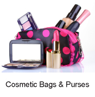 cosmetic bags purses