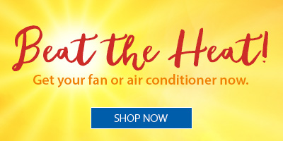 Beat the Heat with Fans and Air Conditioners