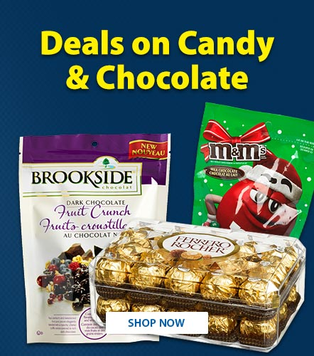Deals on Candy and Chocolates