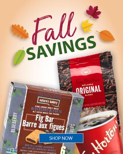 Fall Savings!