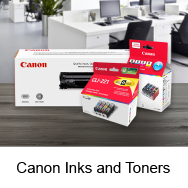 Canon Inks and Toners