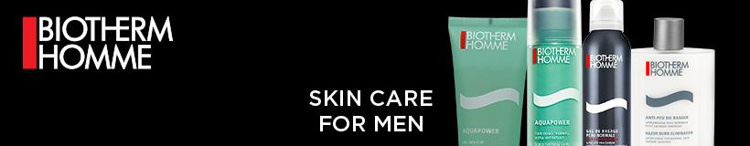 Biotherm Homme - Skin care for men.