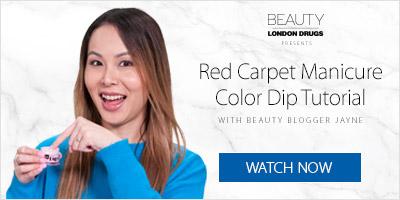 Red Carpet Manicure Tutorial