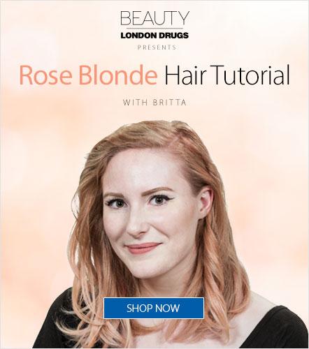 Rose Blonde Hair Tutorial