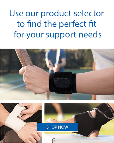 Use our product finder to find the perfect fit for your support needs.