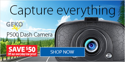 Geko P500 Full HD Dash Cam